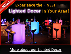 Experience the Only Lighted Casino Tables in Your Area!