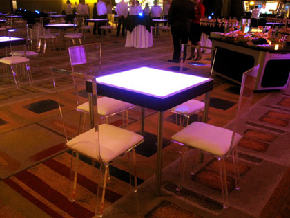 lighted table 1