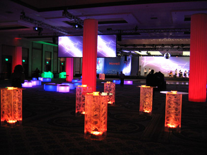 Rent Lighted Acrylic Cocktail Tables Bars Lounge