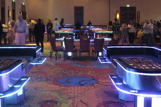 Casino theme party rentals houston